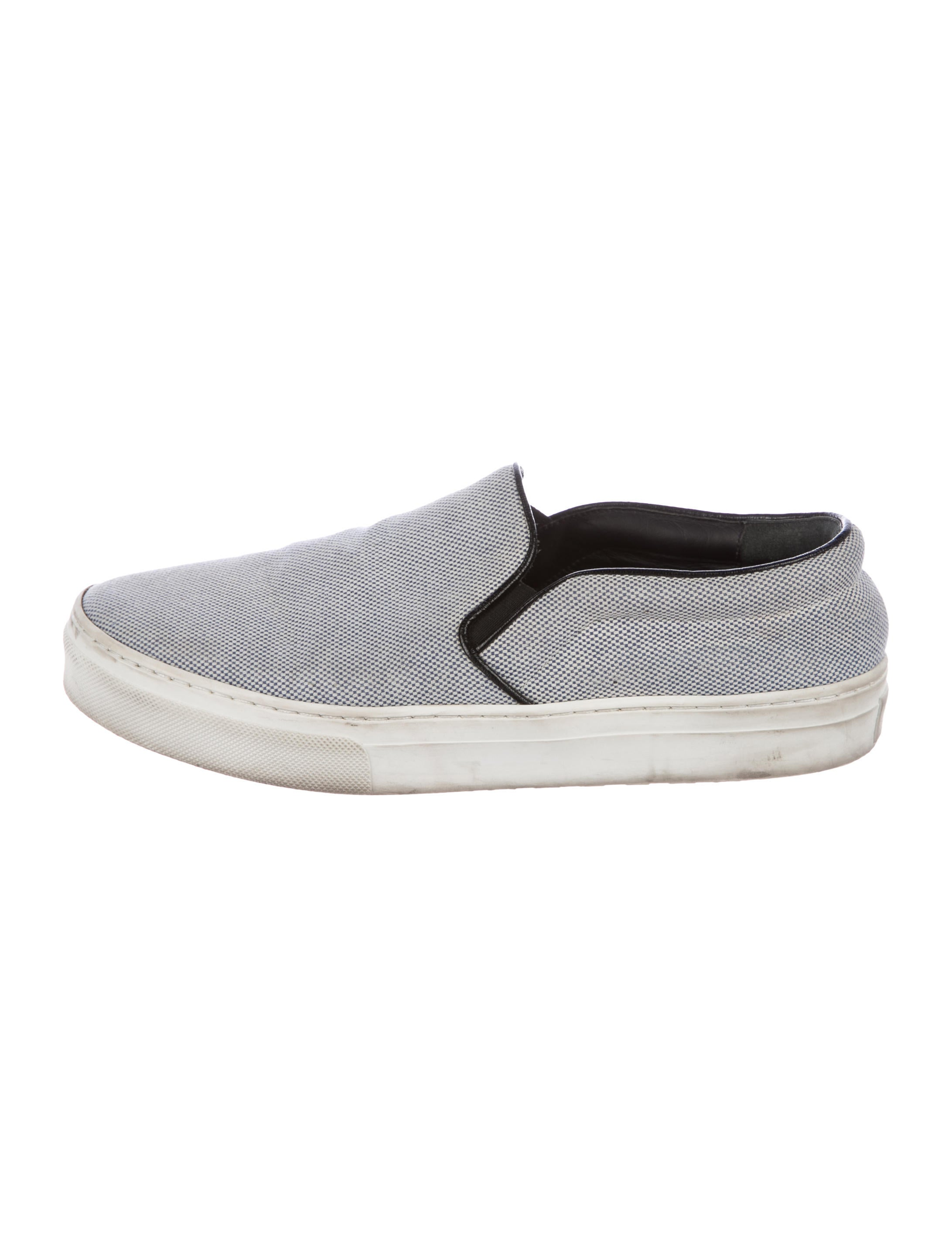 Céline Woven Slip-On Sneakers cheap low price c1IEkk