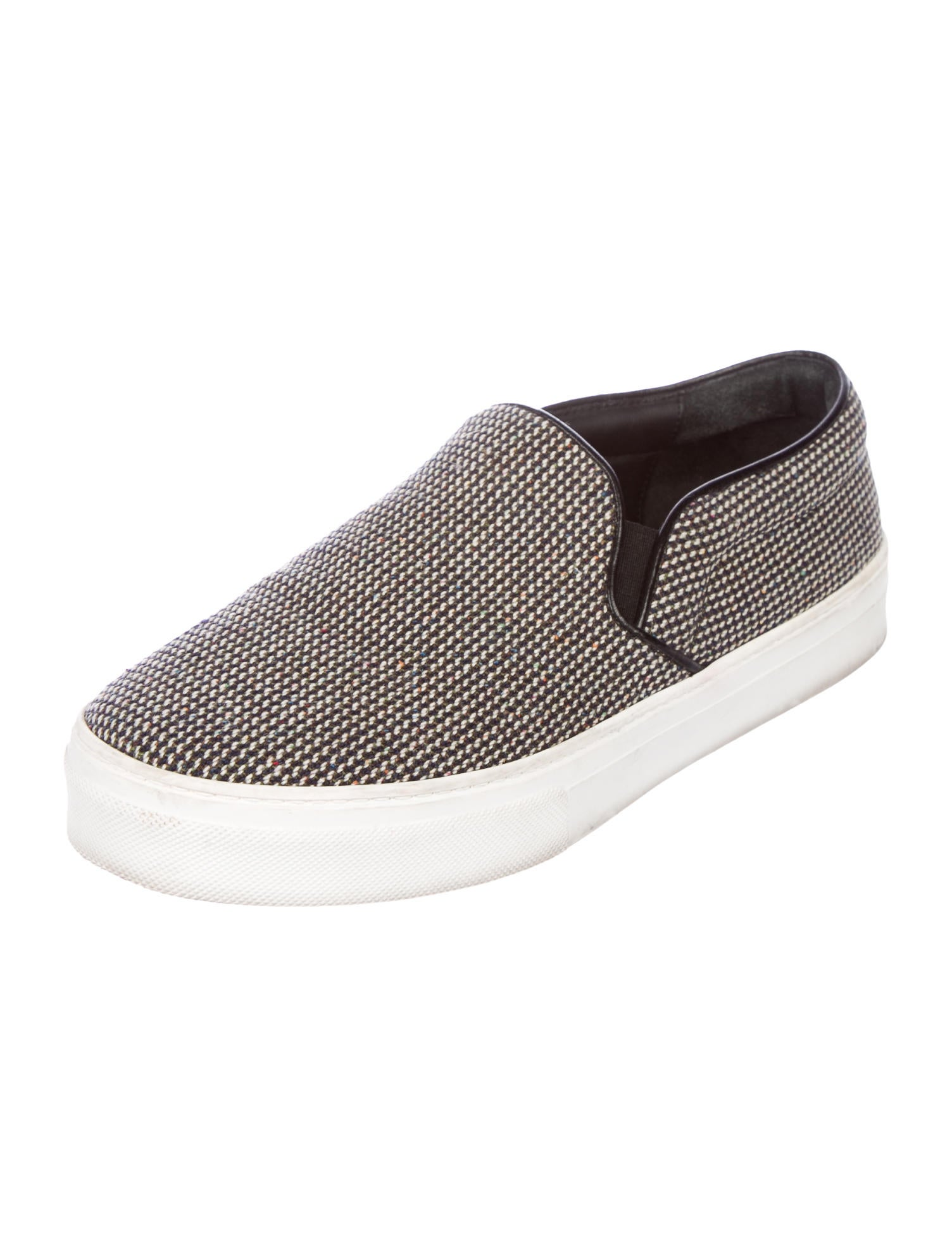 authentic sale online Céline Tweed Slip-On Sneakers official site for sale geniue stockist online cheap wide range of clearance 2014 new lMvCfG