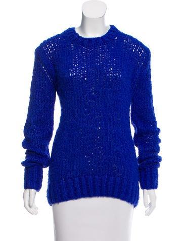 Céline Silk Knit Sweater None