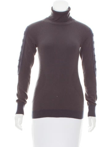 Céline Logo Cashmere Sweater None