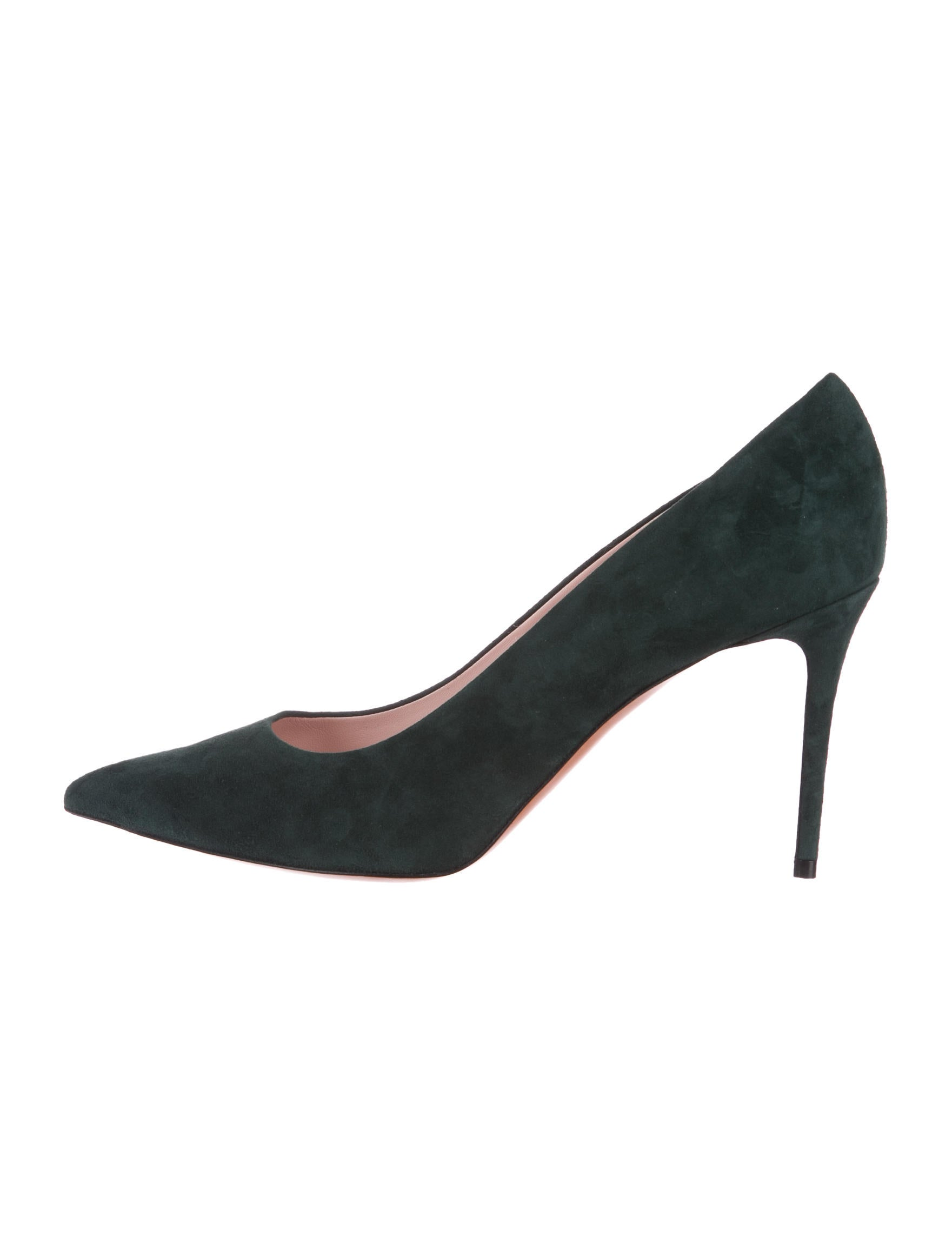 Céline Suede Pointed-Toe Pumps w/ Tags free shipping footlocker pictures Grey outlet store online pay with paypal sale online Qekp0ttPCD