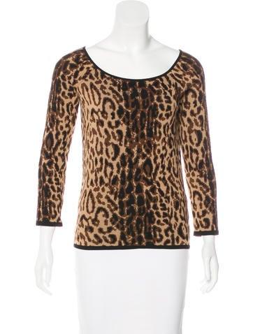 Céline Wool Knit Top None