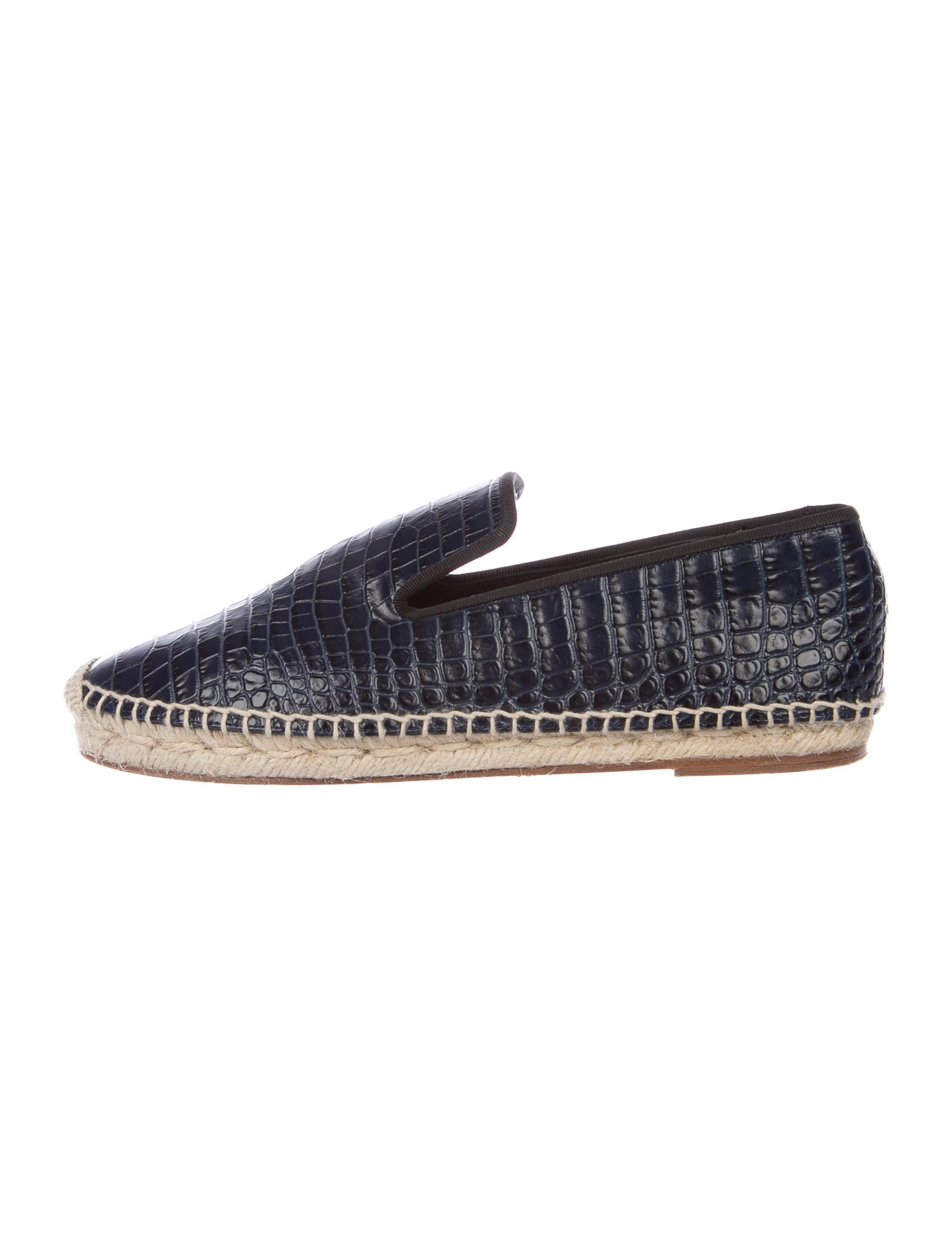 cheapest price online Céline Leather Espadrille Loafers cost discount big discount clearance websites fast delivery sale online r1Tcr