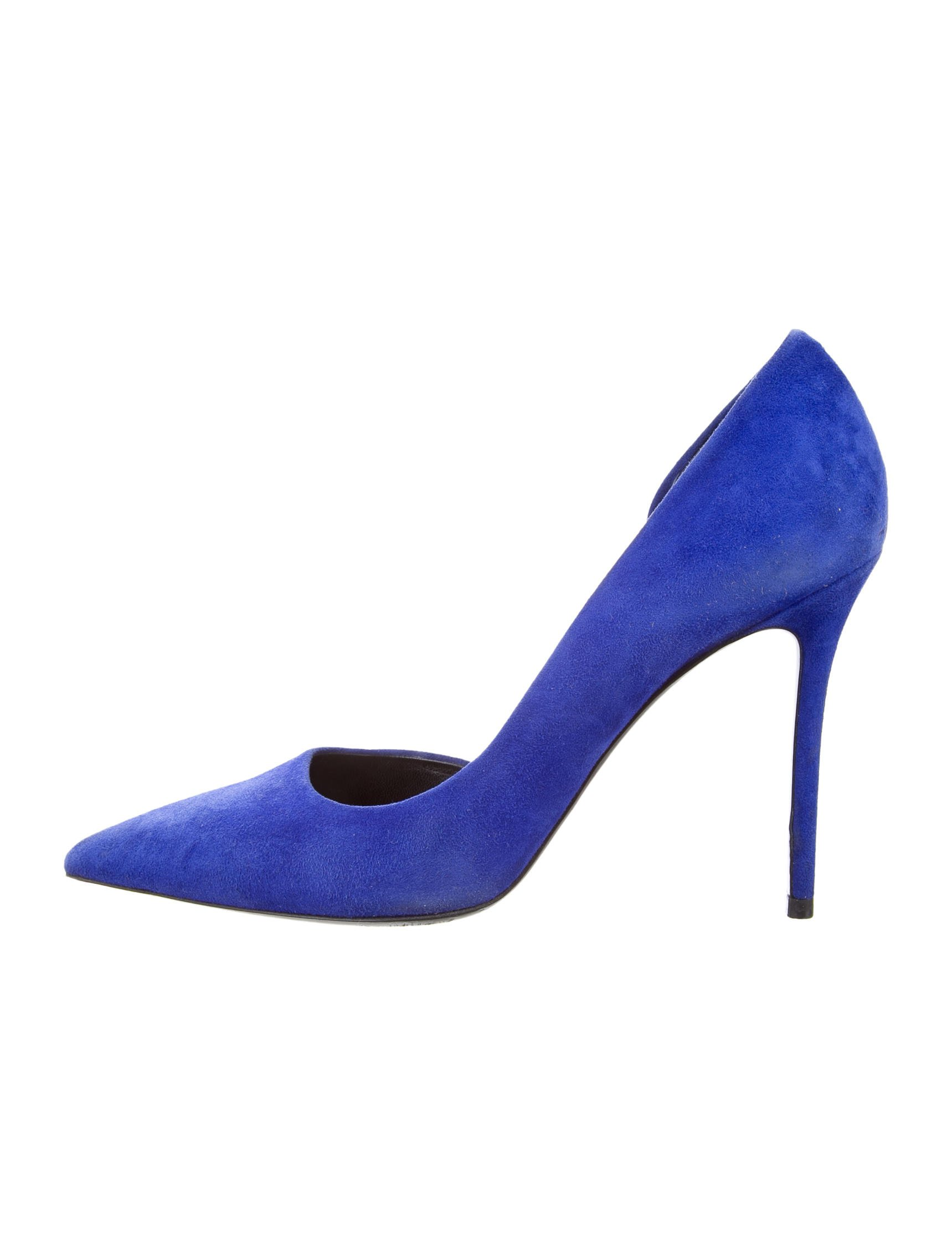 cheap sale extremely Céline Suede Semi D'Orsay Pumps very cheap 2015 new online 8GUn4
