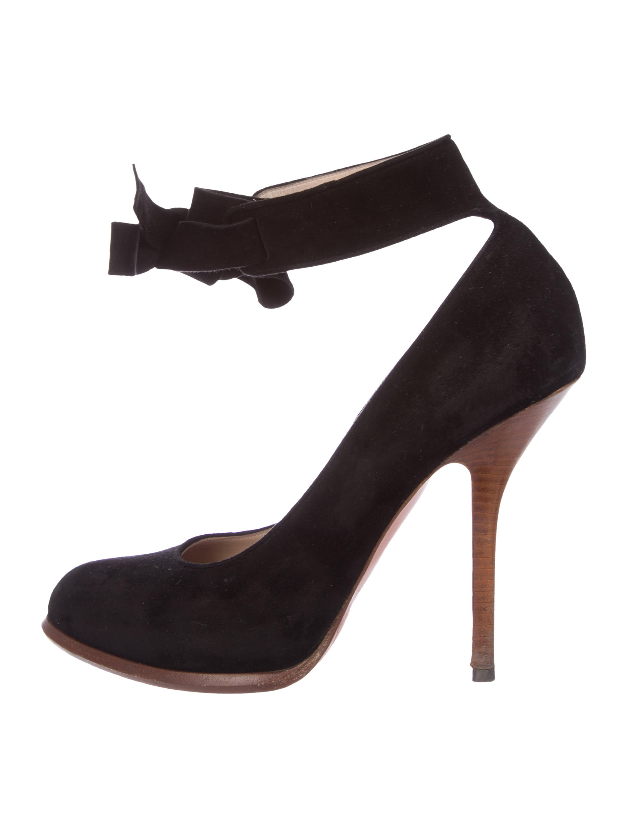 top quality Céline Suede Round-Toe Pumps outlet discount buy cheap clearance store mtdOTurgF