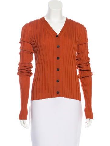 Céline Lightweight Wool Cardigan w/ Tags None