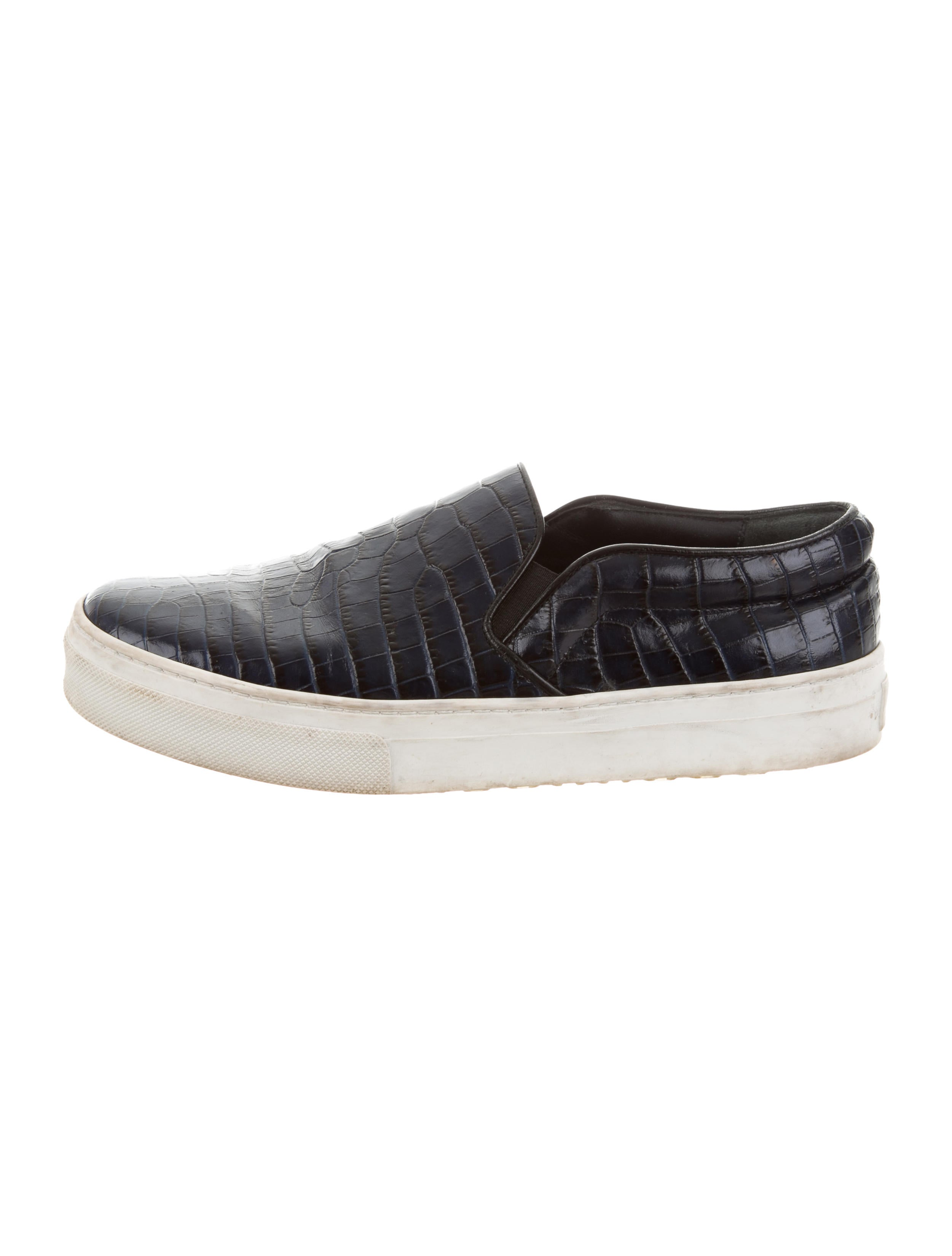 100% guaranteed online free shipping release dates Céline Embossed Slip-On Sneakers sale outlet locations JYSmHJ