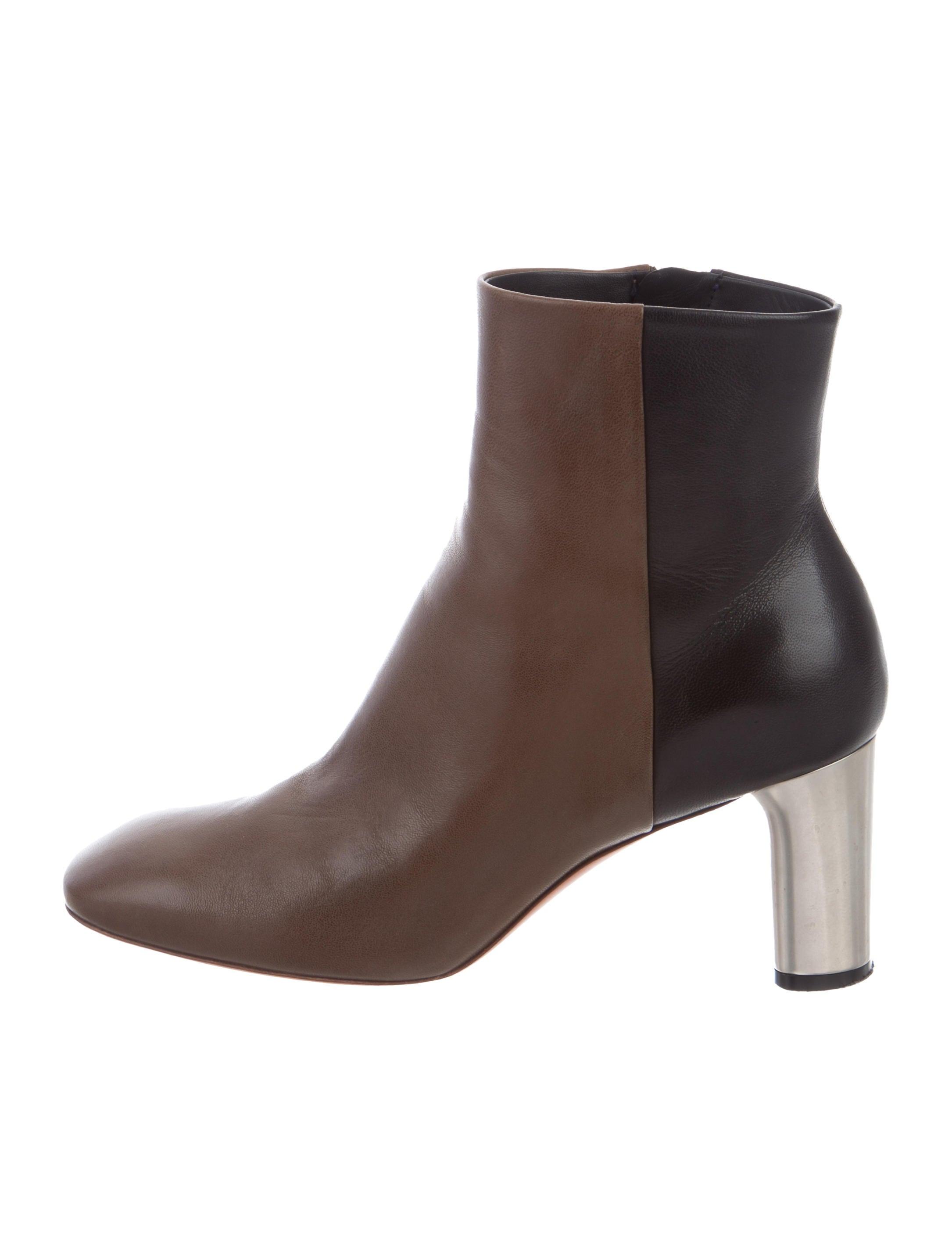 find great online buy cheap 2014 unisex Céline Bicolor Ankle Boots cheap sale high quality get authentic cheap price discount store MfnQlGp0QR