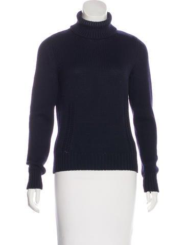 Céline Long Sleeve Wool Sweater None