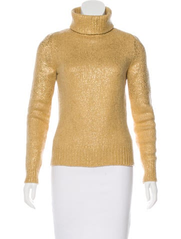 Céline Long Sleeve Cashmere Sweater None