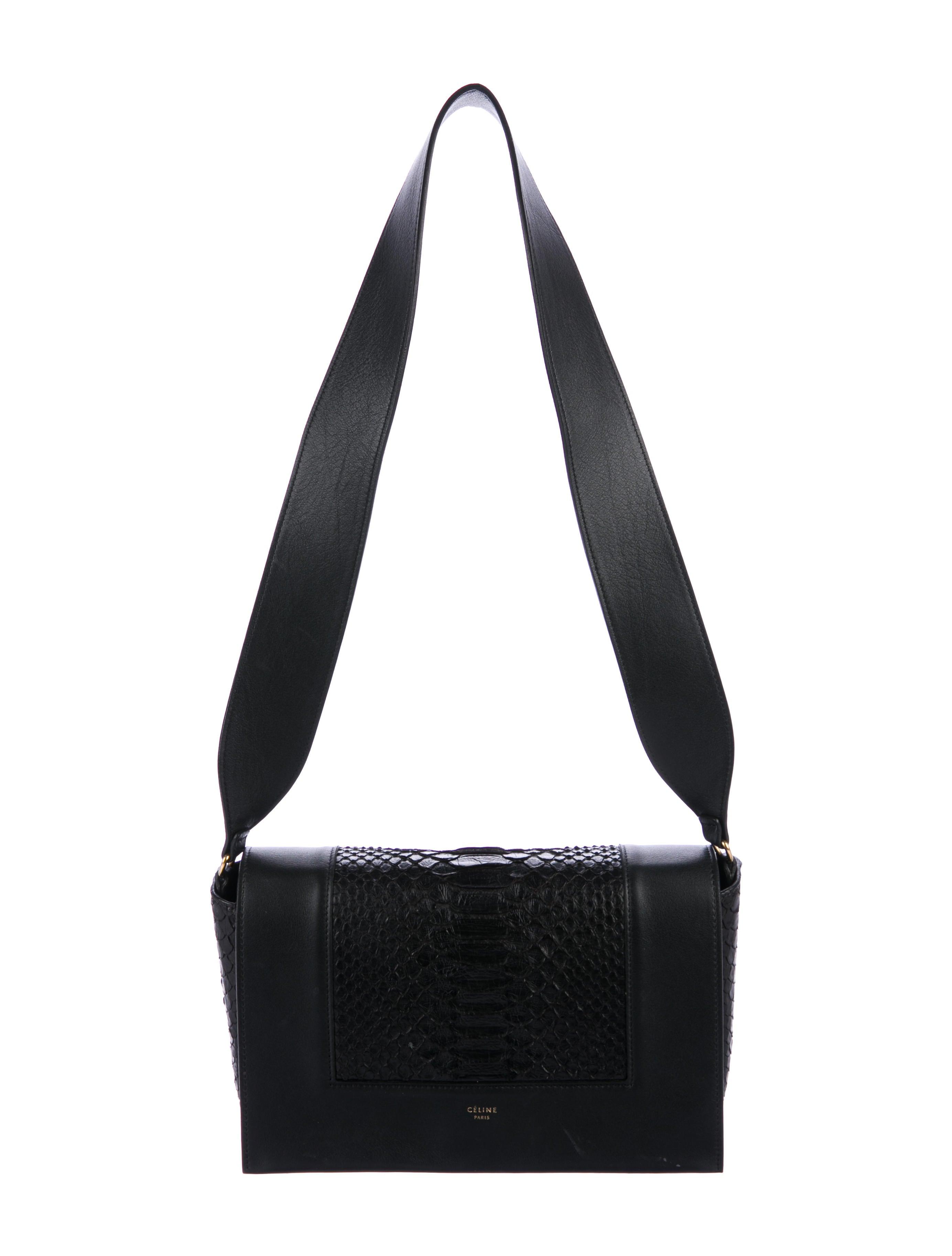 39cbd304b0 Céline 2016 Python Frame Bag