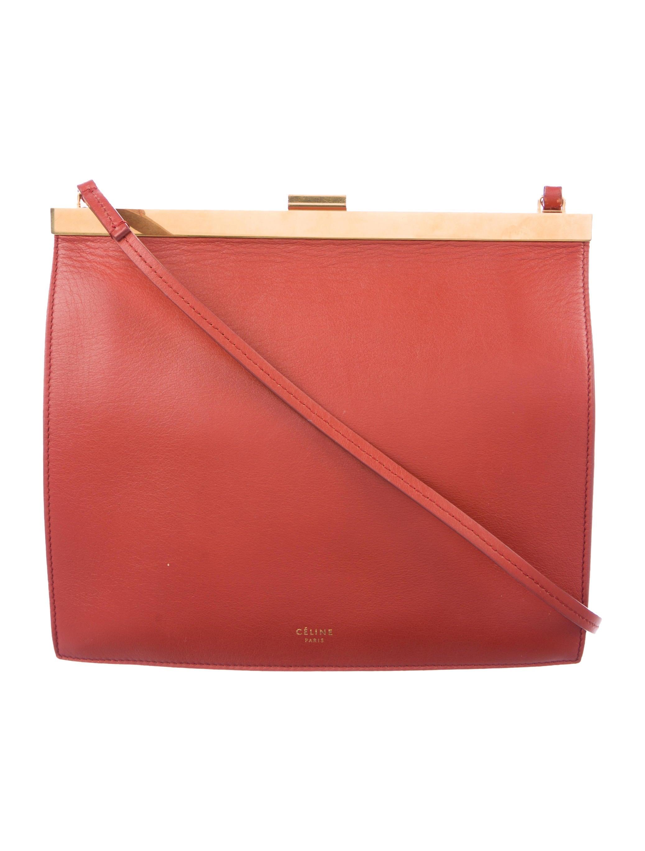 0546704ab5573 Celine Céline 2017 Mini Clasp Bag - Handbags - CEL65497