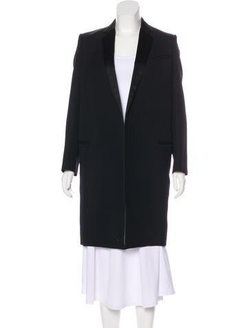 Céline Knee-Length Wool Coat None