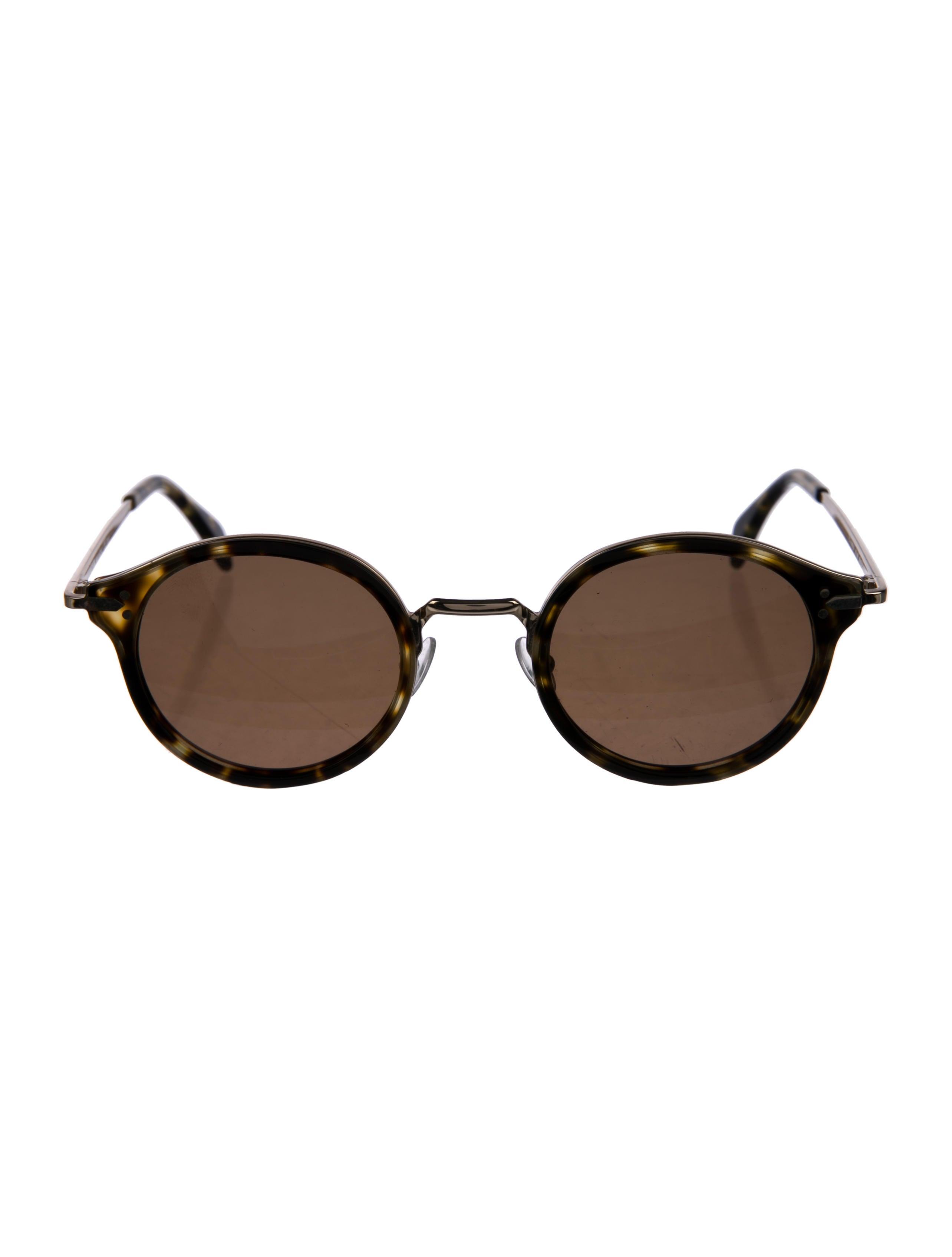 Cline Stiletto Round Sunglasses