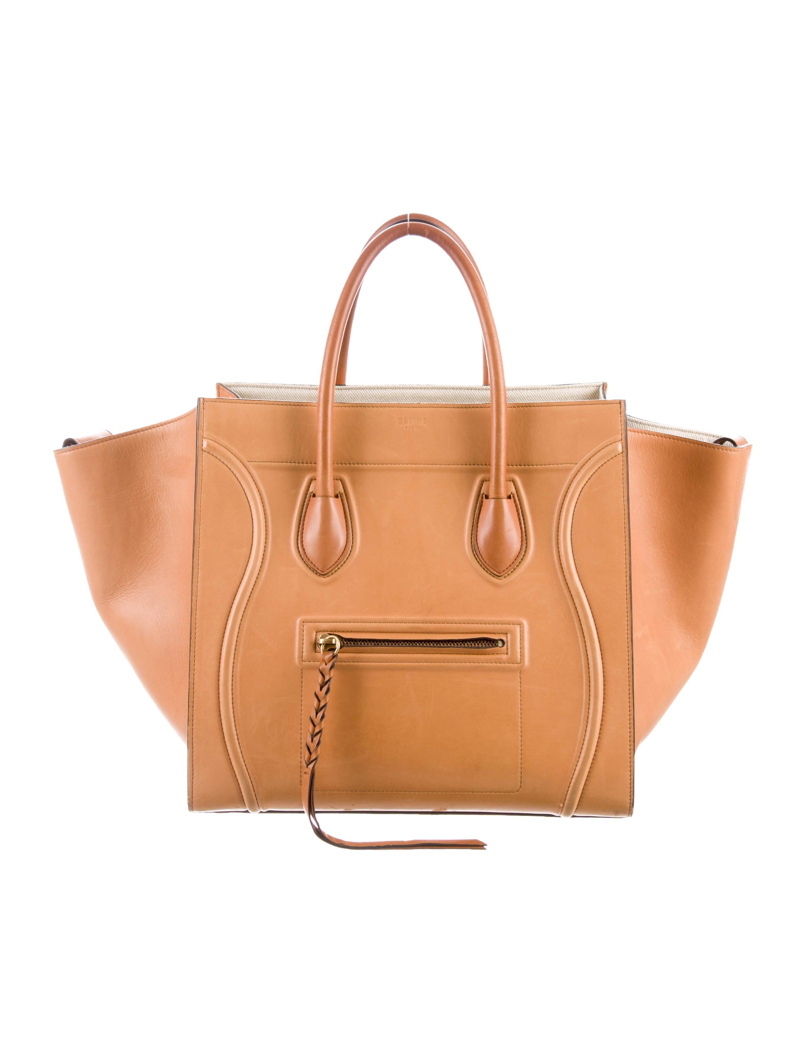71c4852ca2 Celine Céline Medium Luggage Phantom Tote - Handbags - CEL72423 ...