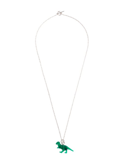 3939b6fbb58 Celine Céline Dinosaur Pendant Necklace - Necklaces - CEL73519 | The ...