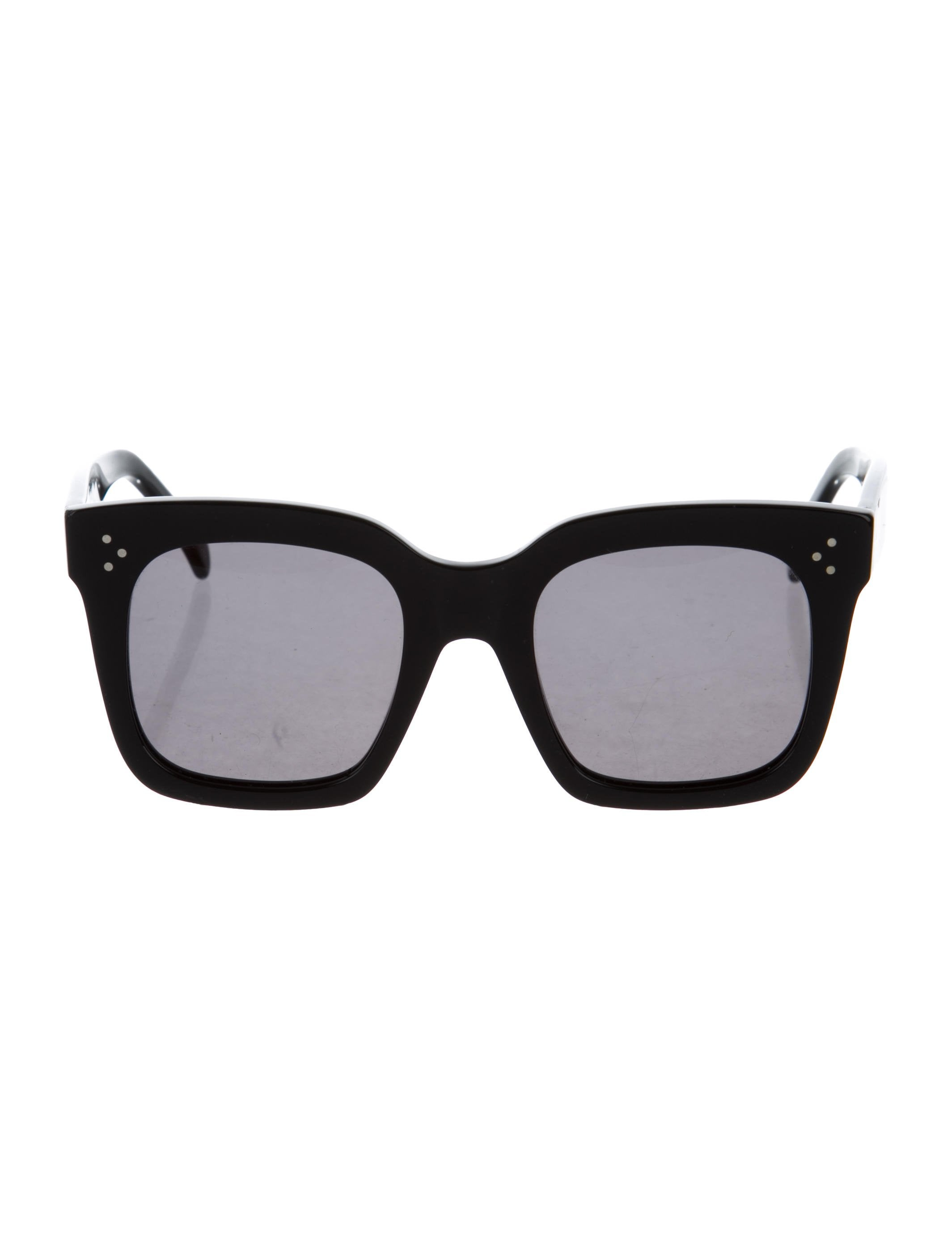 8d37f0bcbc72 Celine Céline Tilda Oversize Sunglasses - Accessories - CEL77063 ...