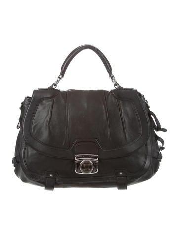 Céline Vintage Leather Satchel