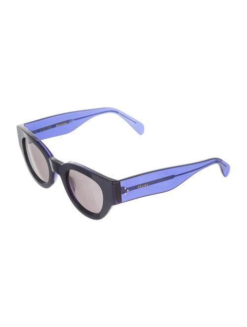 63df7702d4 Céline Bicolor Cat-Eye Sunglasses Céline Bicolor Cat-Eye Sunglasses ...