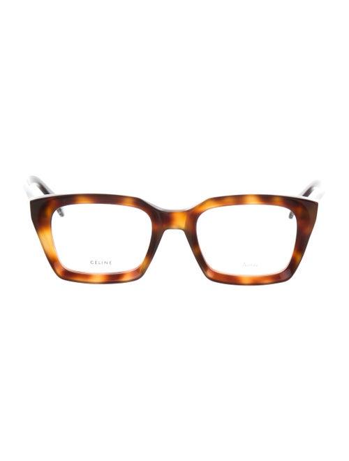 ea22608b28 Celine Céline Tortoiseshell Round Eyeglasses w  Tags - Accessories ...