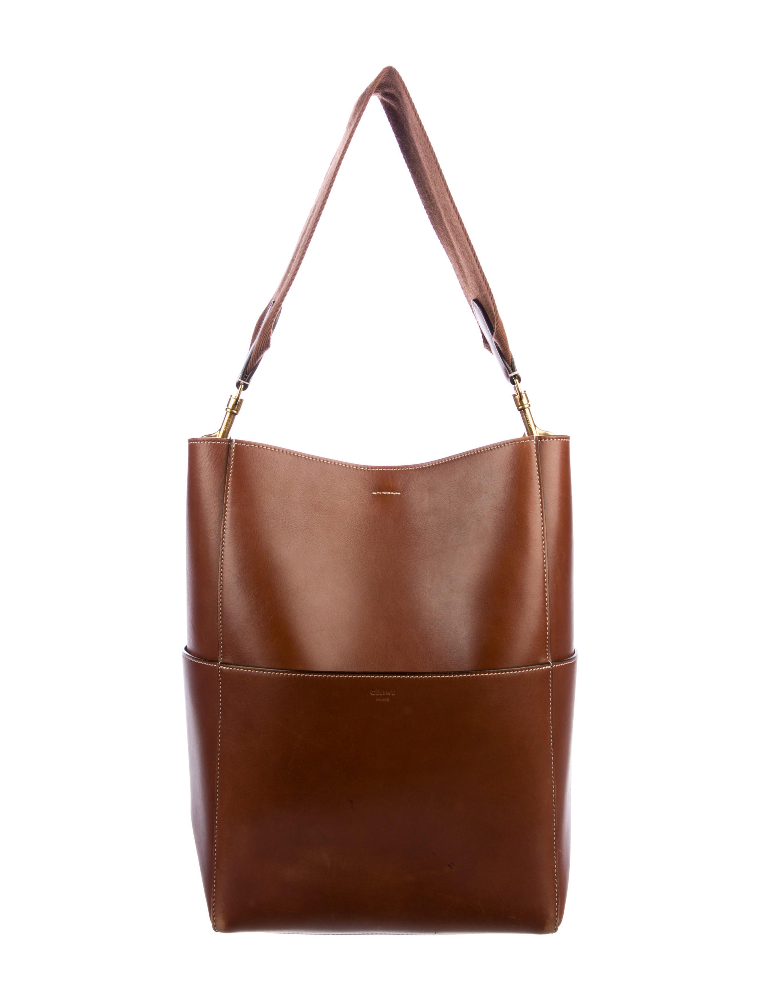 b17d78d85888 Celine 2017 Seau Sangle w  Additional Strap - Handbags - CEL83870 ...