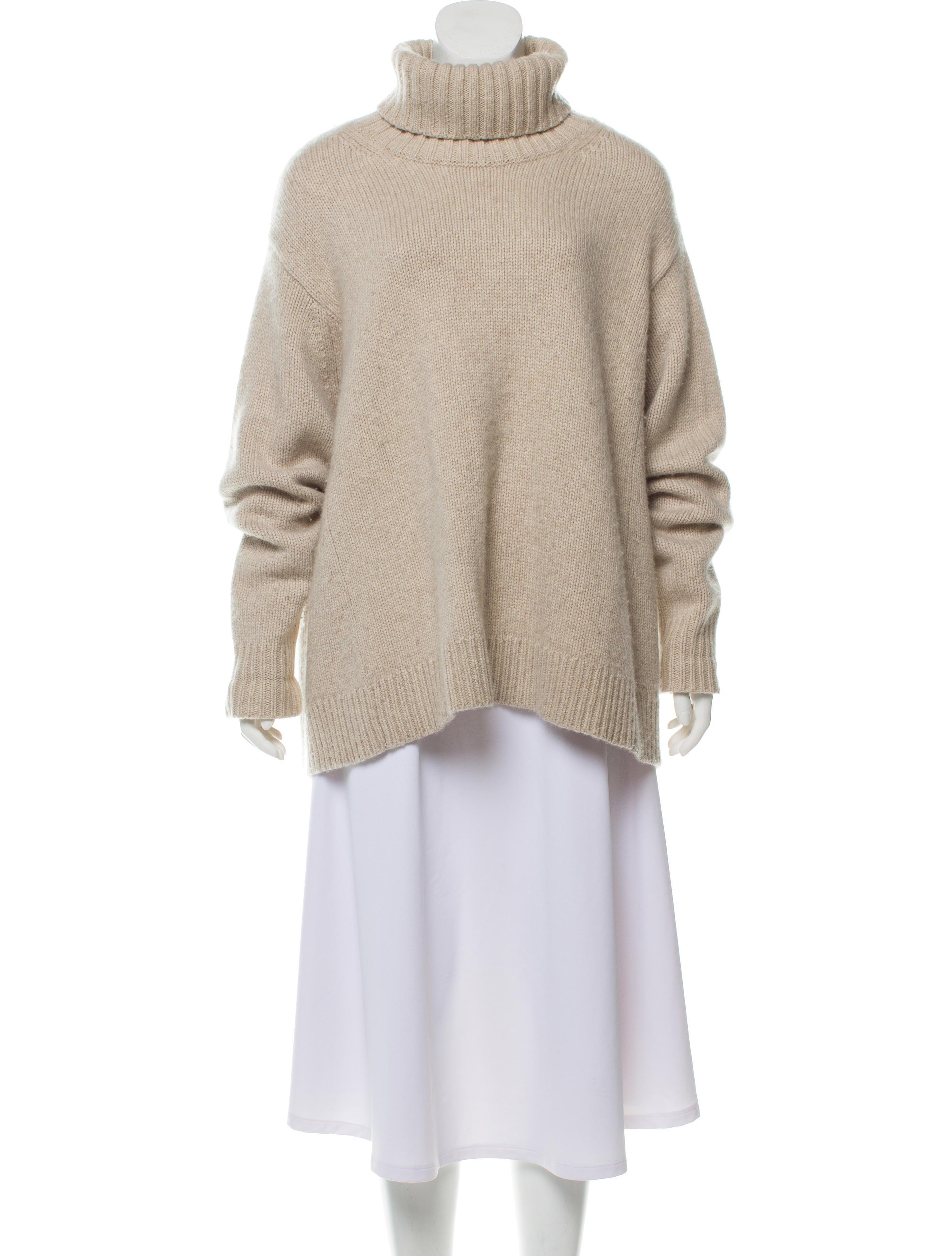 Heavyweight Turtleneck Cashmere Sweater by Celine