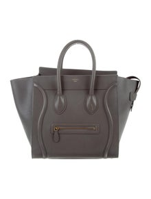 f7a755248909 Celine. Céline Mini Luggage Tote