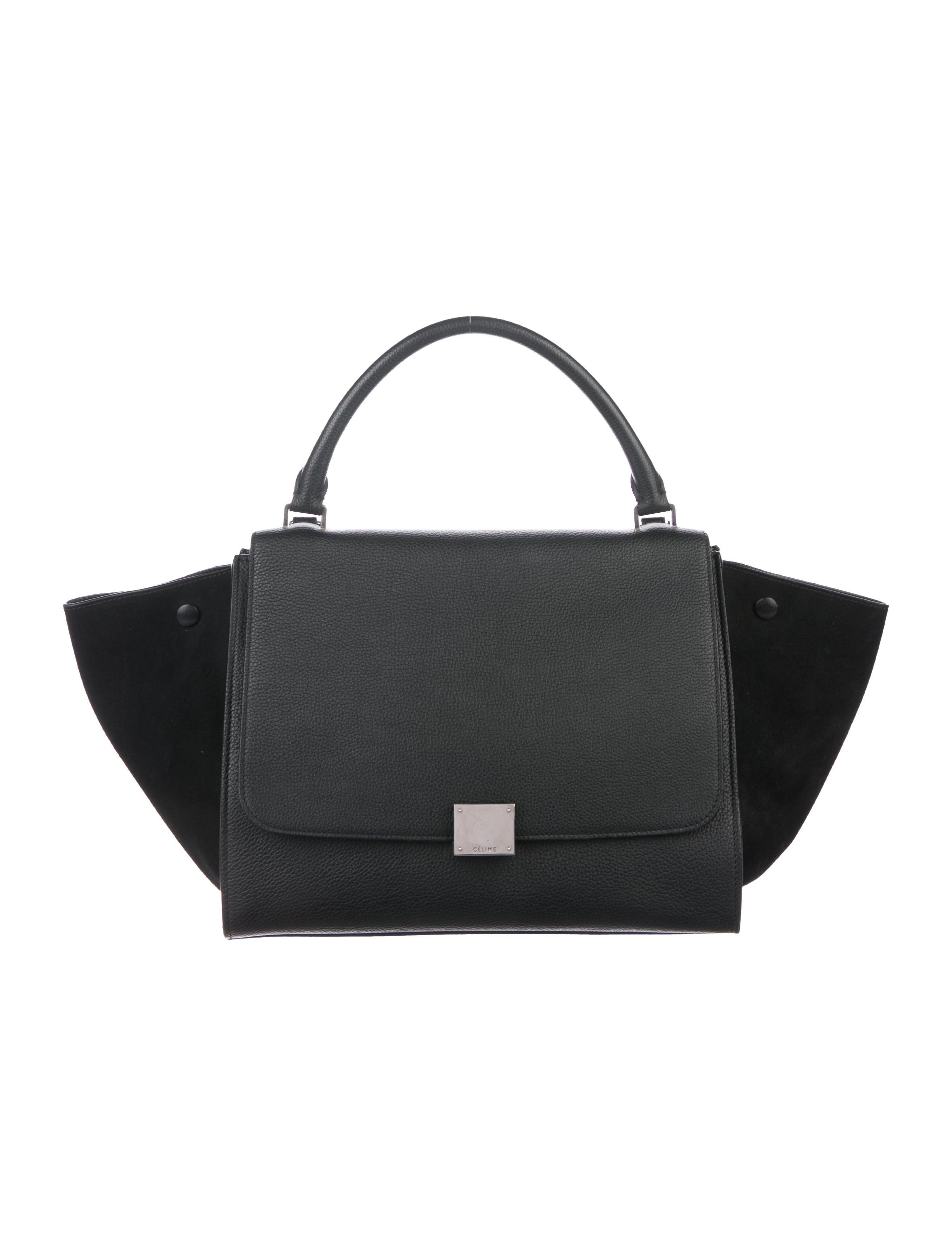 a9a5630097bd Celine Céline Medium Trapeze Bag - Handbags - CEL85711