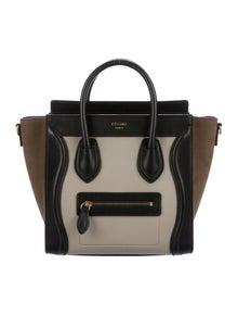 ac69b80290a0 Celine. Céline 2016 Tricolor Nano Luggage Tote