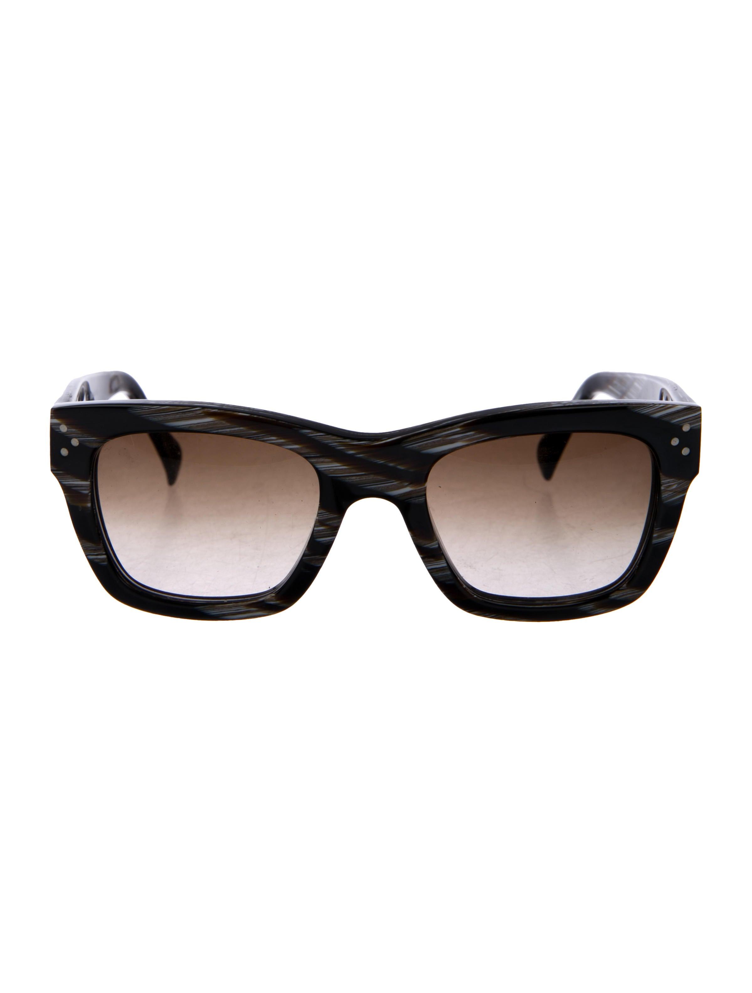e6f0ae0ff14 Celine Square Gradient Sunglasses - Accessories - CEL88482