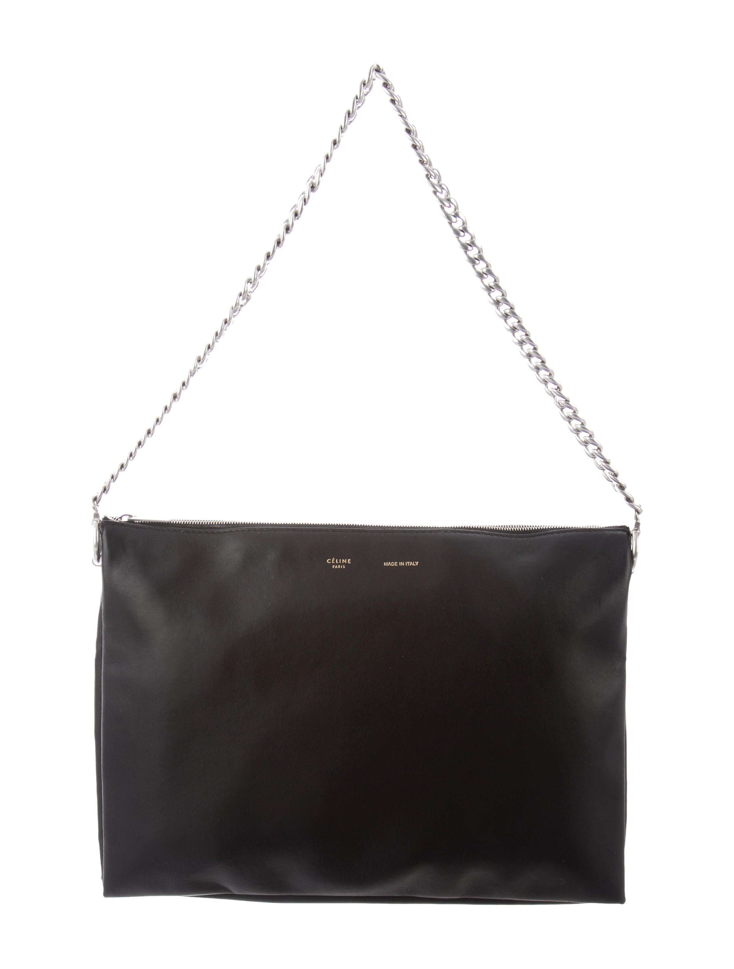 358299543a6a Celine Soft Trio Zipped Bag - Handbags - CEL88659
