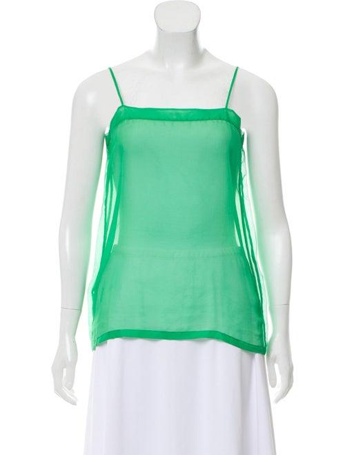 Celine Silk Sleeveless Top