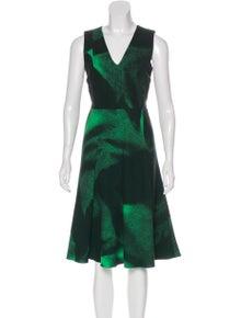 0096f9883b981 Bottega Veneta. Wool Midi Dress. Size: XS