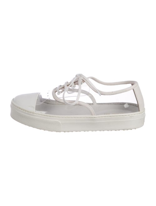 Celine PVC Low-Top Sneakers Clear