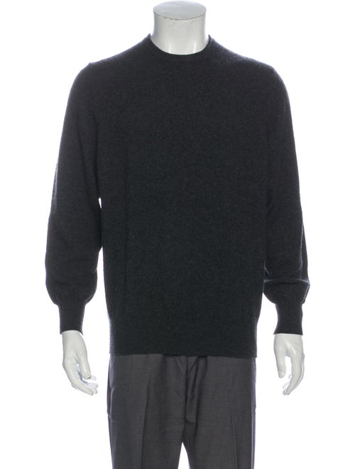 Davide Cenci Wool Crew Neck Pullover Wool