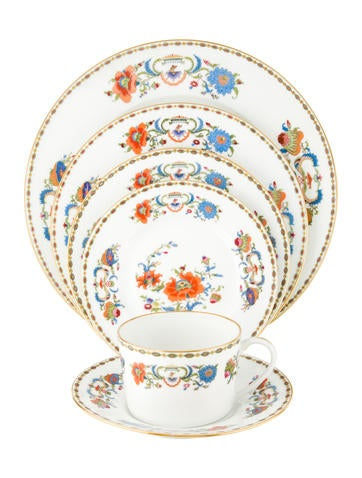 Céralene A. Raynaud Limoges 35-Piece Vieux Chine Service None