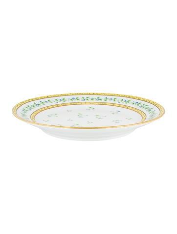 Céralene A. Raynaud Limoges Morning Glory Spray Platter None