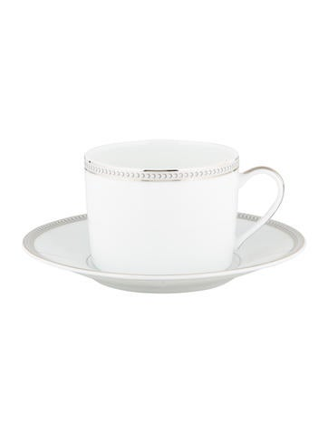 Christofle Perles Cup & Saucer None