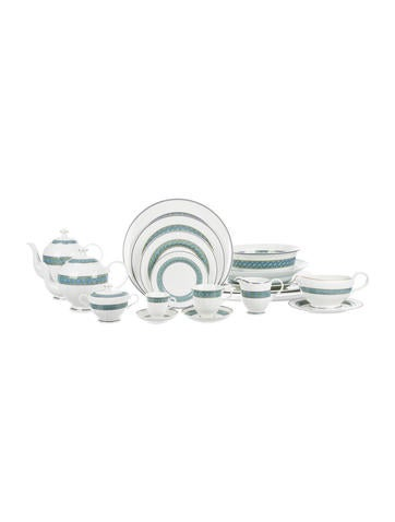 Christofle 79-Piece Torsada Partial-Dinner Service None