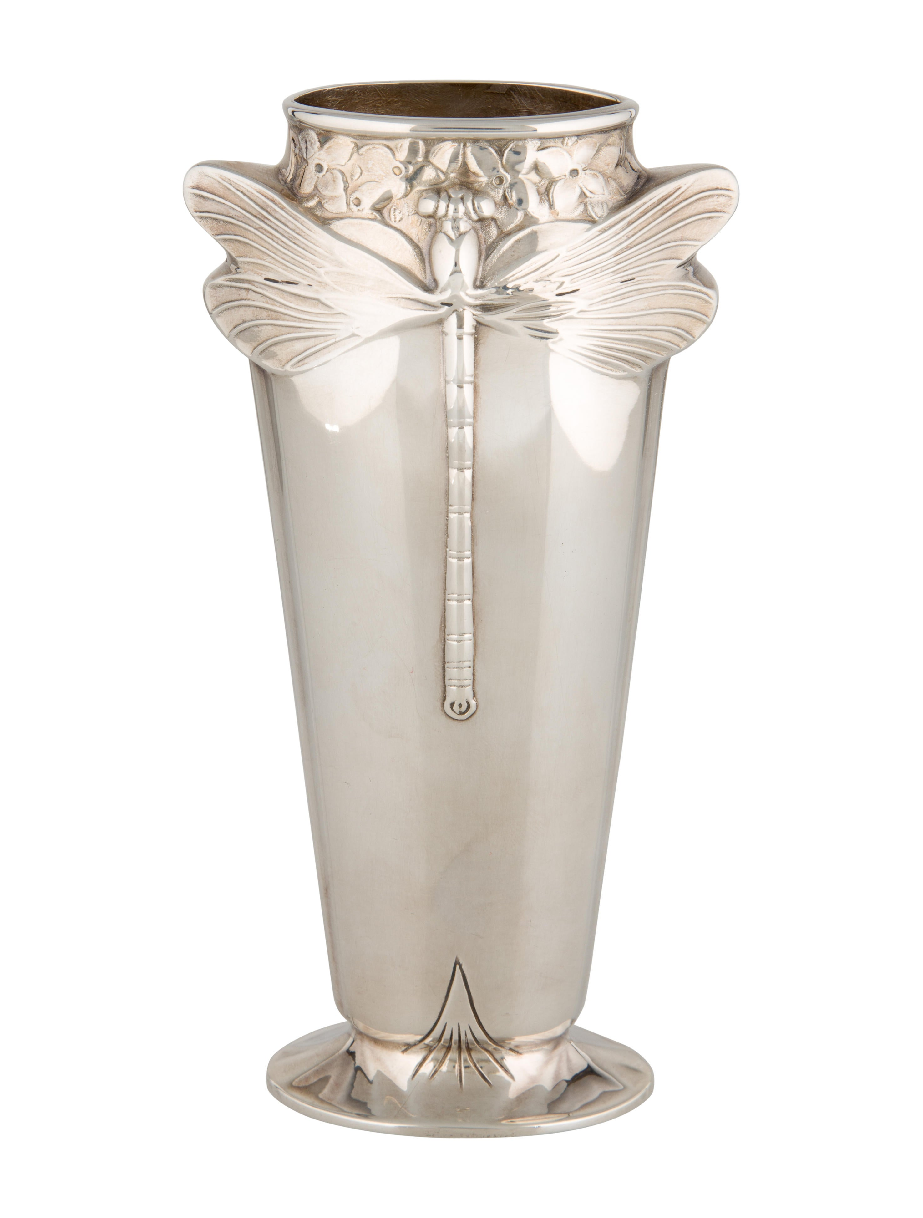 Christofle dragonfly vase decor and accessories for Home decor and accents