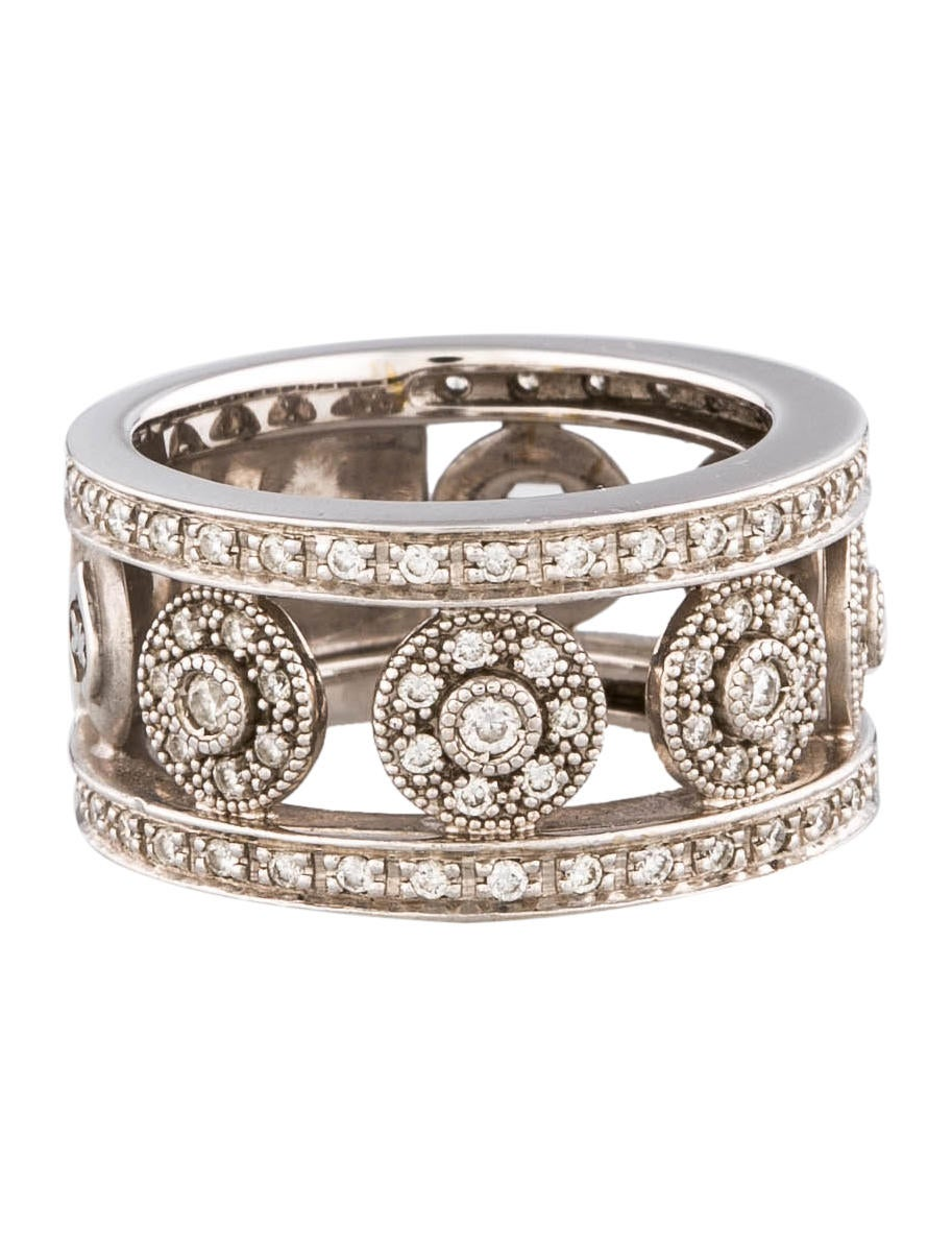 Charriol Alor Cutout Diamond Band - Rings - CH120203 | The RealReal