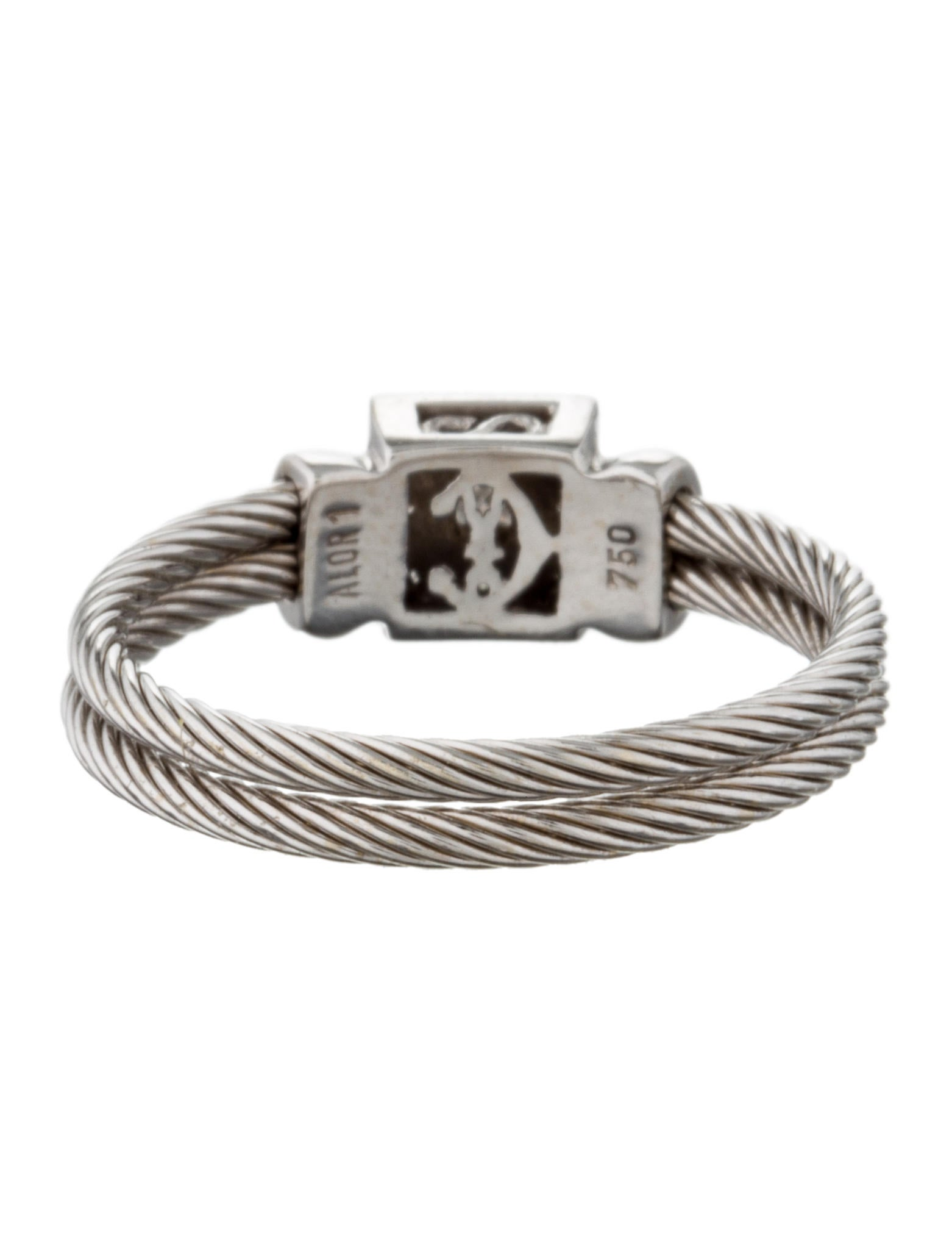 charriol 18k cable ring rings ch120815 the