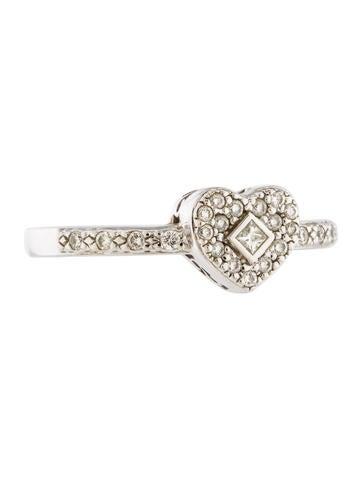 Charriol Diamond Heart Ring