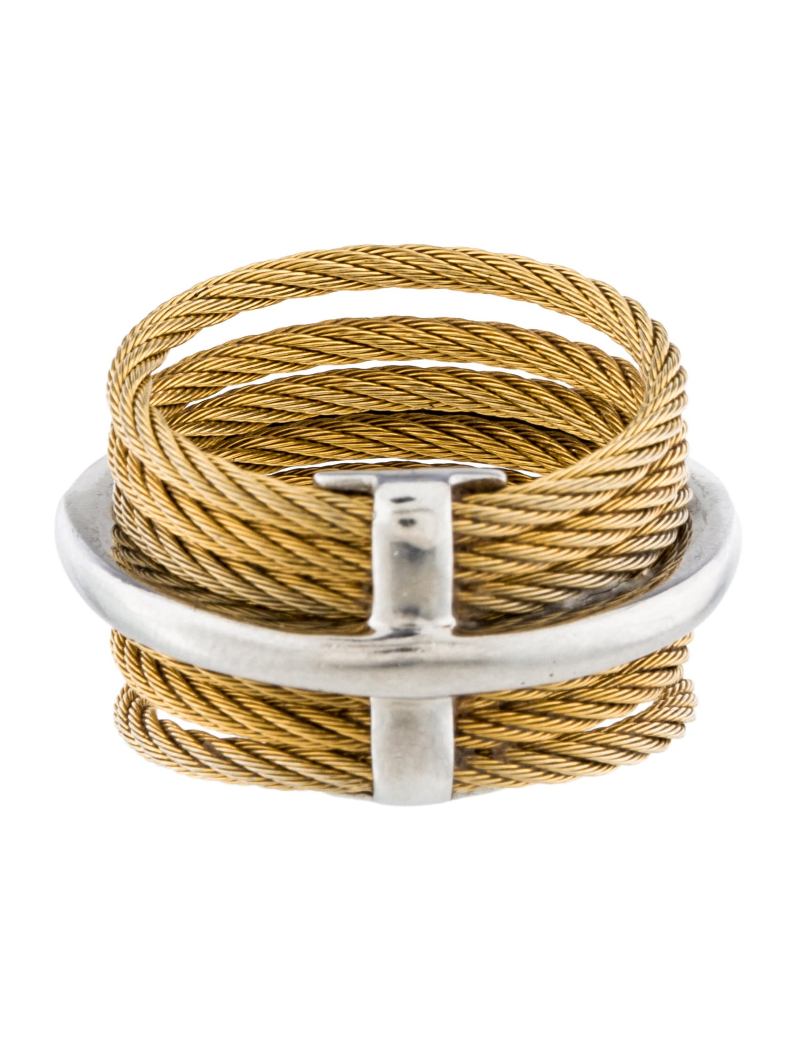 charriol cable band ring rings ch121184 the