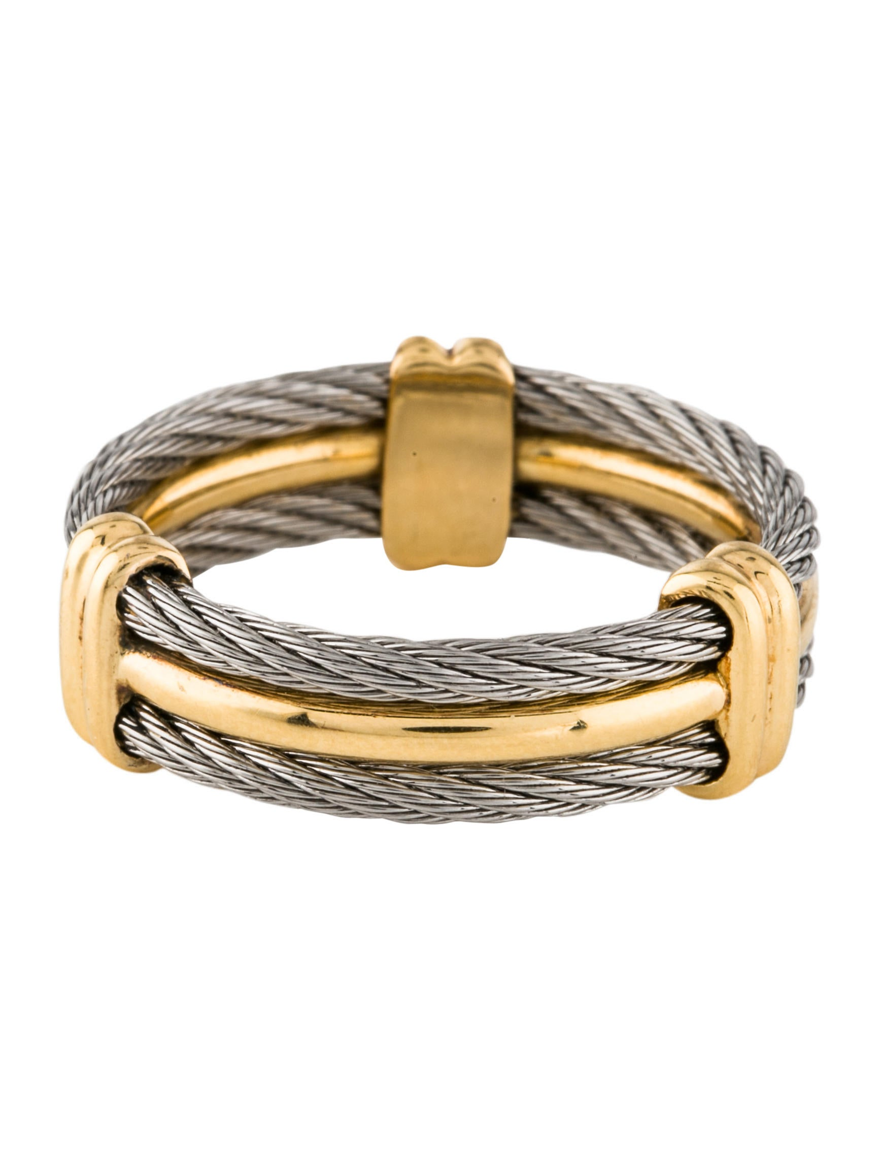 Charriol Celtic Cable Wedding Band - Rings - CH121779 | The RealReal