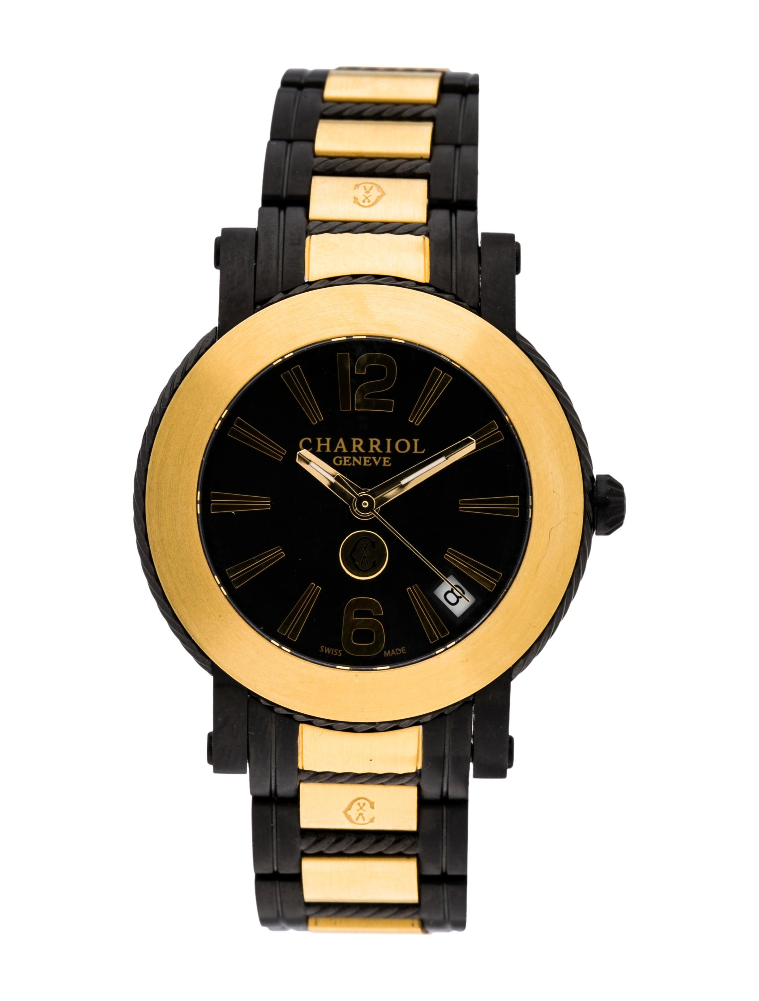 04565bd18bd Charriol Parisi Watch - Bracelet - CH122229