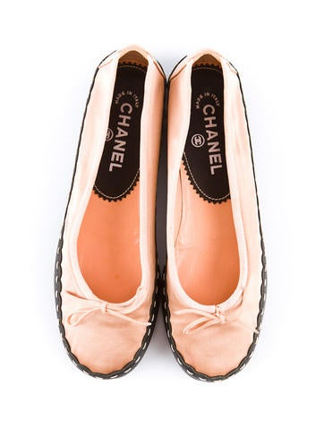 Two Tone Satin Flats