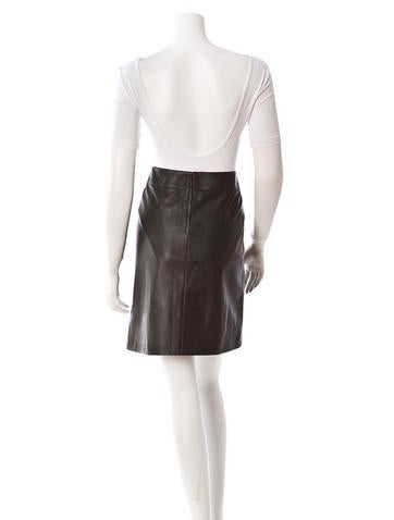 Leather Skirt w/ Tags