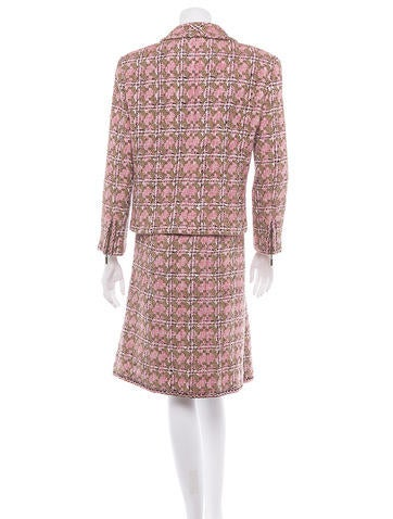 Woven Skirt Suit