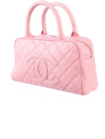 Quilted Caviar Bag